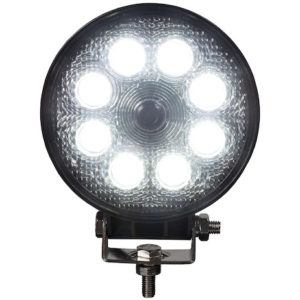 ROUND LED FLOOD LIGHT WITH BUILT-IN BACKUP CAMERA