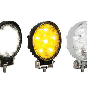 4.5 INCH WIDE ROUND LED FLOOD LIGHT SERIES