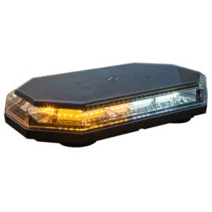 15 Inch Octagonal Amber/Clear LED Mini Light Bar Series  #8891062
