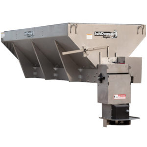 SALTDOGG® 3 CUBIC YARD ELECTRIC CONVEYOR CHAIN SPREADER  (1400465SSE)