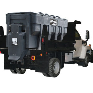SALTDOGG SHPE3000 ELECTRIC POLY HOPPER SPREADER