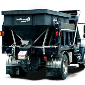 SALTDOGG SHPE6000 ELECTRIC POLY HOPPER SPREADER
